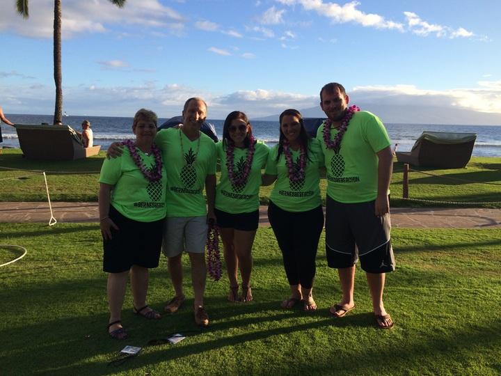 Bernes Be Beaching In Maui  T-Shirt Photo