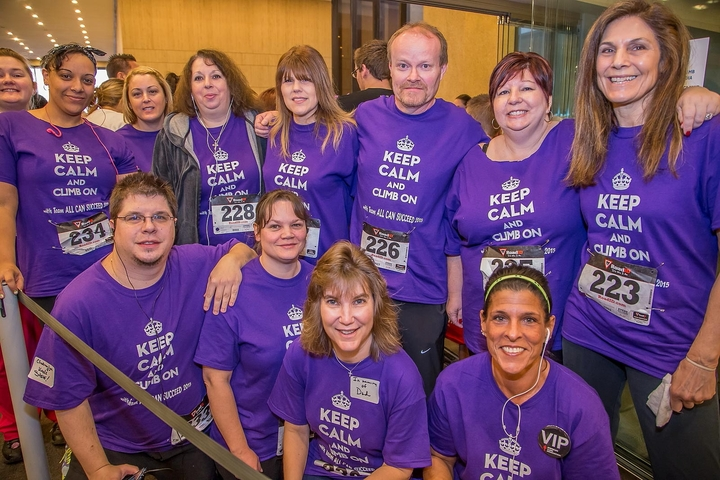 Fight For Air Climb Team All Can Succeed T-Shirt Photo
