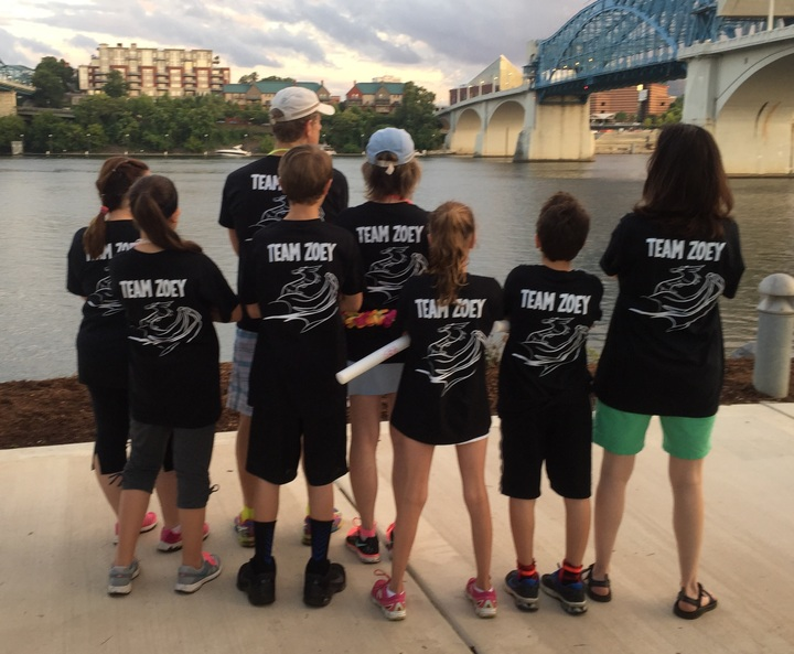 Team Zoey With Attitude  T-Shirt Photo
