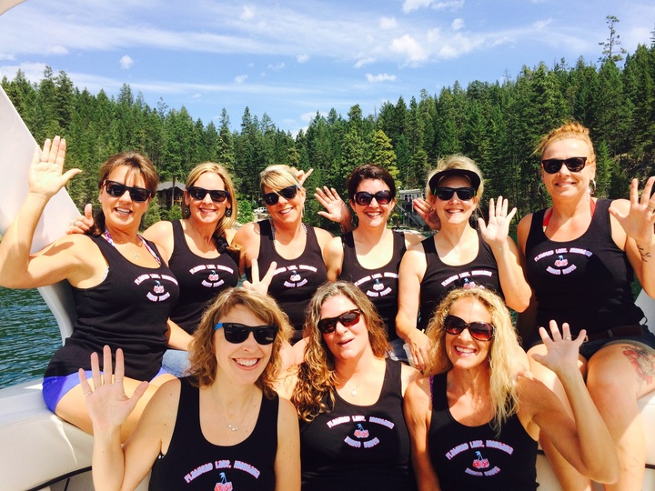 Boating Bunco Babes T-Shirt Photo