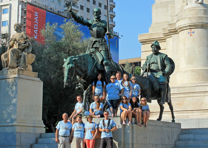 Novo Guide Tours And Man Of La Mancha T-Shirt Photo