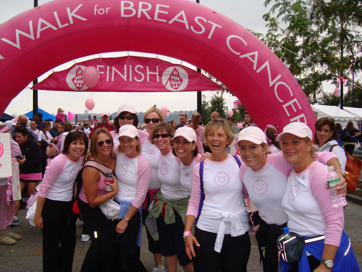 Avon Walk For Breast Cancer T-Shirt Photo