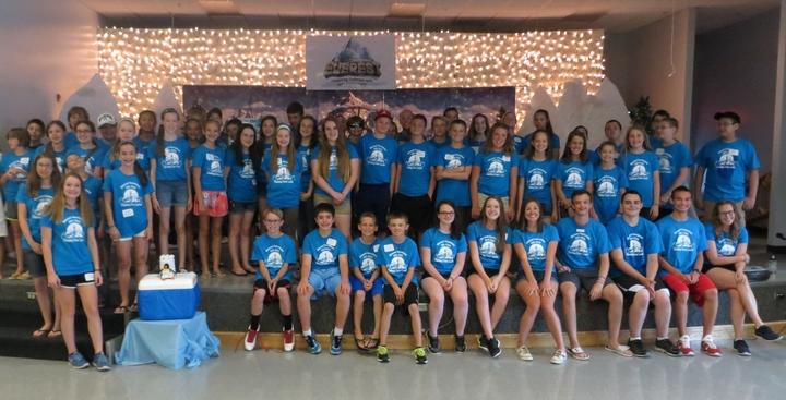 The Climbing Crew Of Vbs 2015 T-Shirt Photo