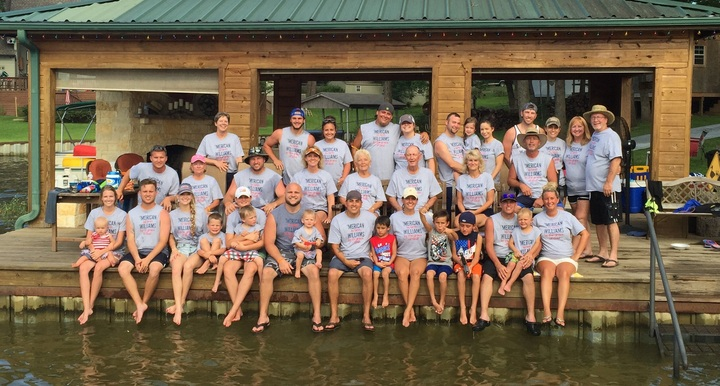Williams Family Fourth Of July Reunion T-Shirt Photo
