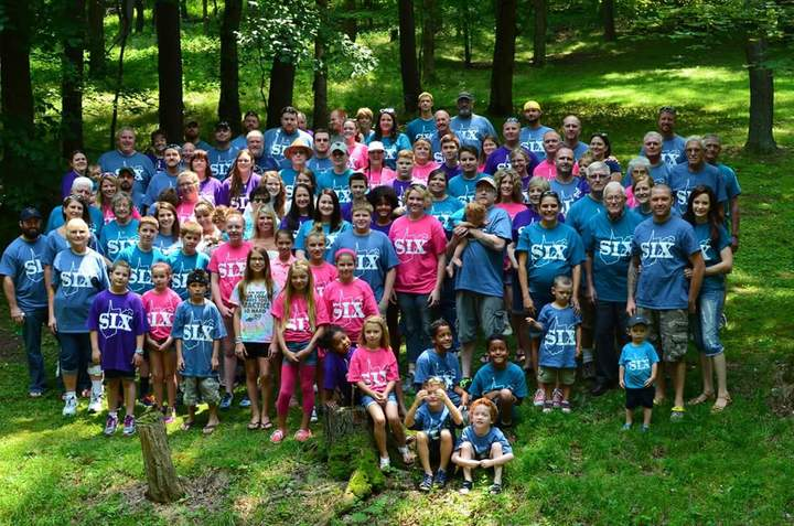 Six Family Reunion T-Shirt Photo
