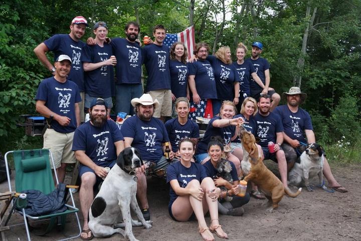 Camp 'merica 2015 T-Shirt Photo