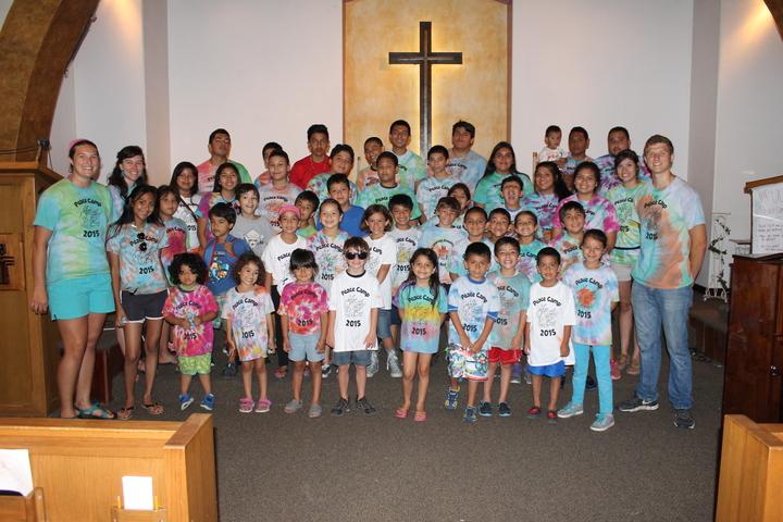 We Love Peace Camp!  T-Shirt Photo