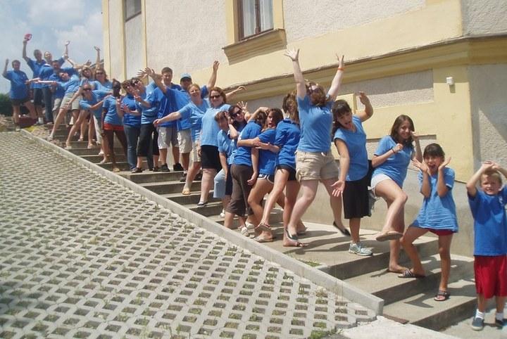 The Westchester Lariats Visit Hungary T-Shirt Photo
