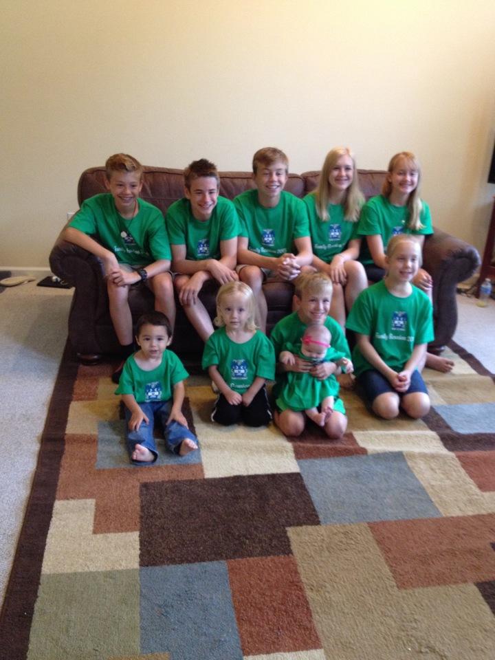 Grandchildren At The Nevin Family Reunion 2015 T-Shirt Photo