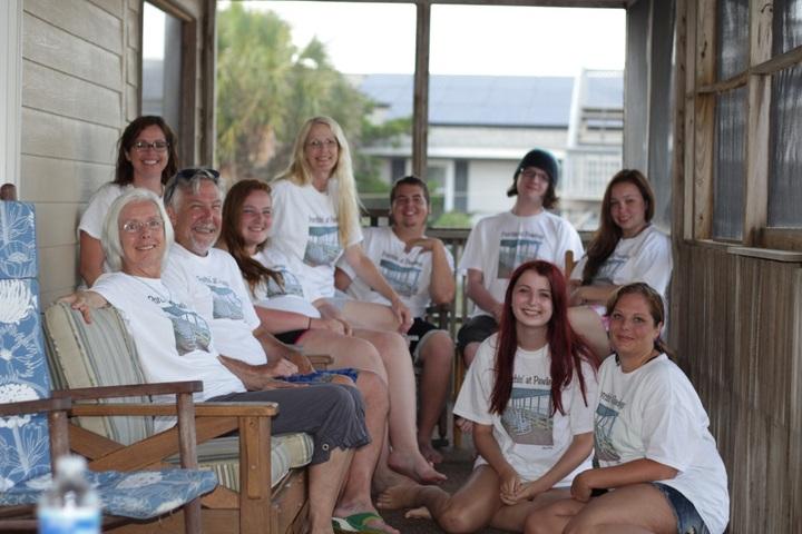 Porchin' At Pawleys Island, Sc T-Shirt Photo