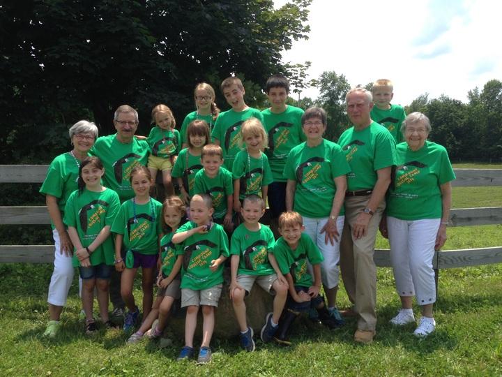 Cousins Camp 2015 T-Shirt Photo
