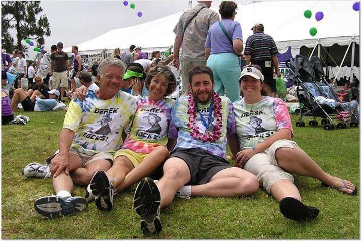 Derek's Rock N Roll Marathon T-Shirt Photo