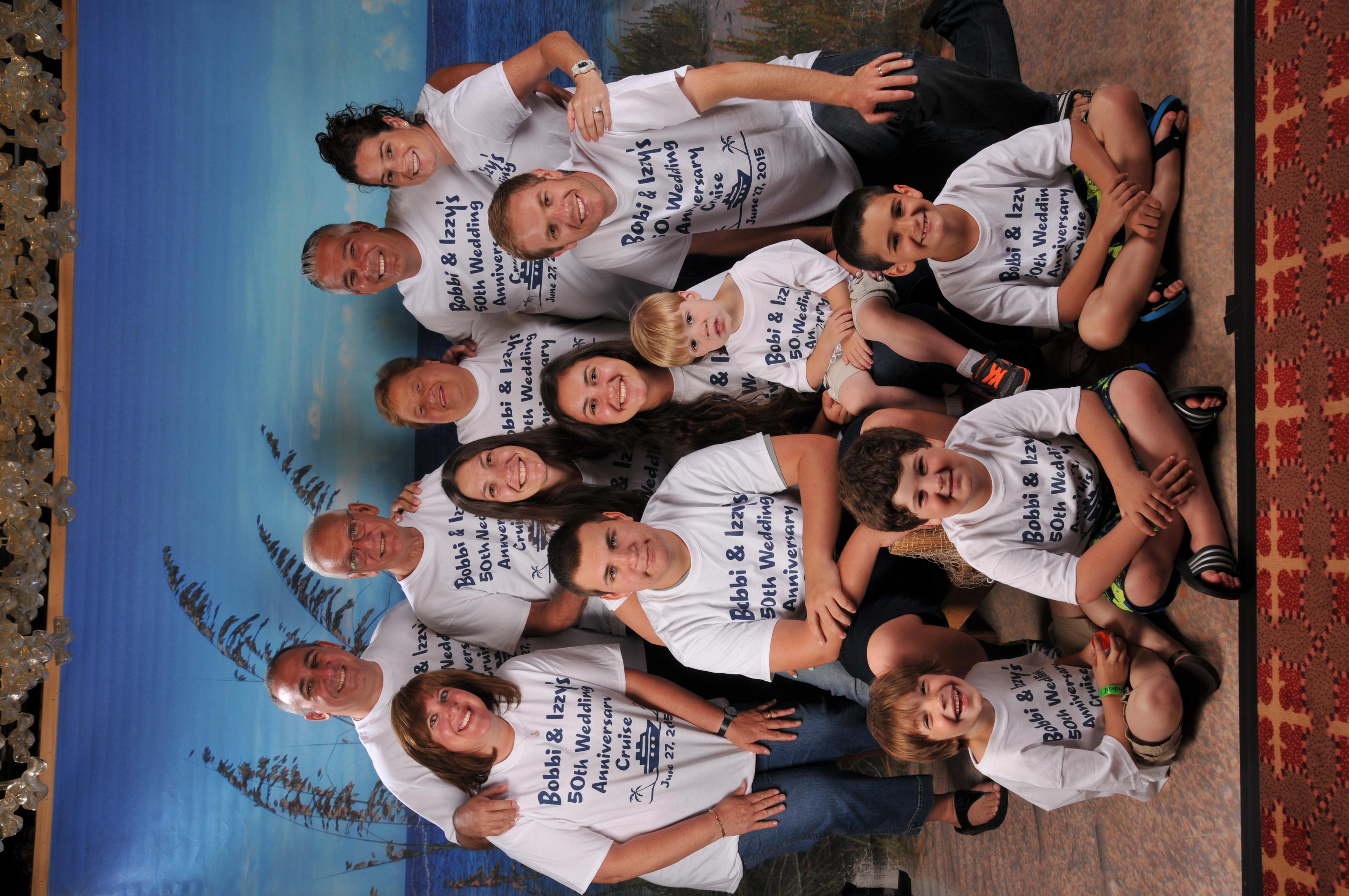 Wedding T Shirt Ideas: Custom T-Shirts For 50 Years Of Wedding Bliss