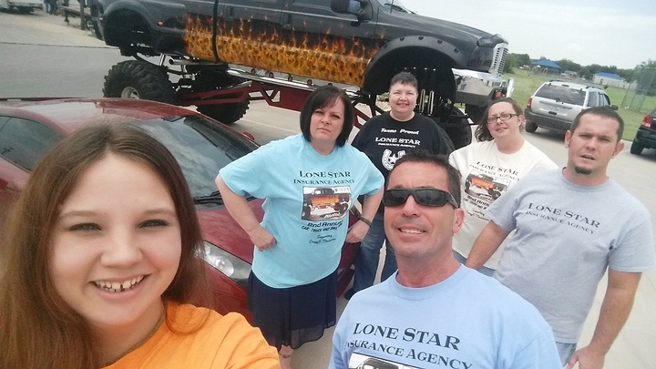 The A Team @ Lone Star Insurance Agency T-Shirt Photo