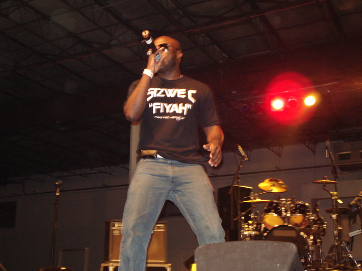 Sizwe C Performing New Single Live! T-Shirt Photo