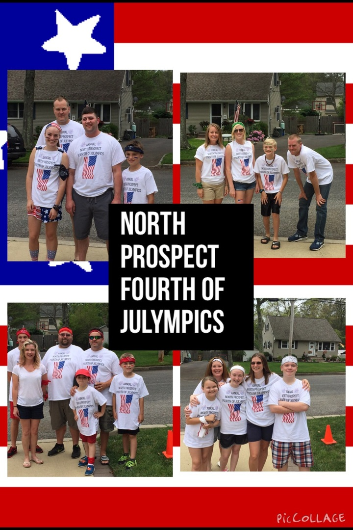 North Prospect Annual Fourth Of Julympics! T-Shirt Photo