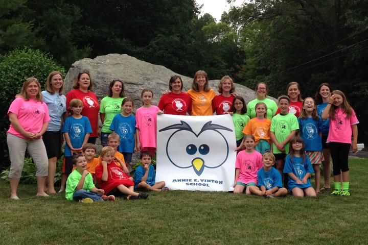 Annie Vinton Elementary School T-Shirt Photo