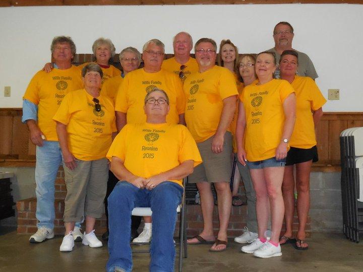 Wills Family Reunion 2015 T-Shirt Photo