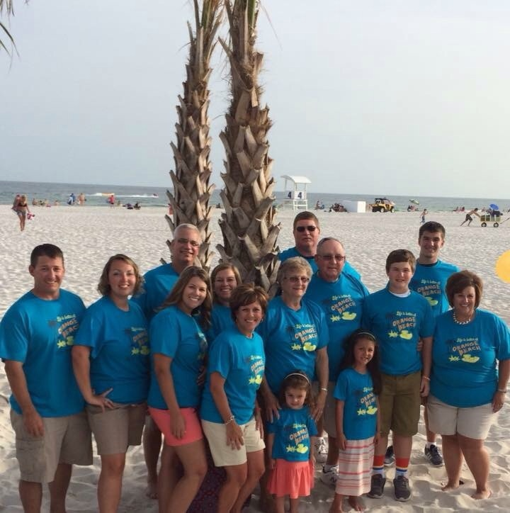 Gulf Shores Grein Family Vacation T-Shirt Photo