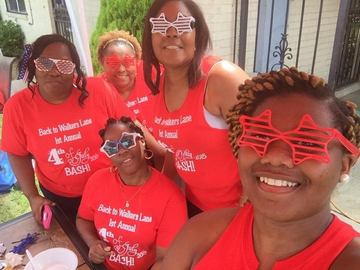 Johnson Family 4th Of July Reunion T-Shirt Photo