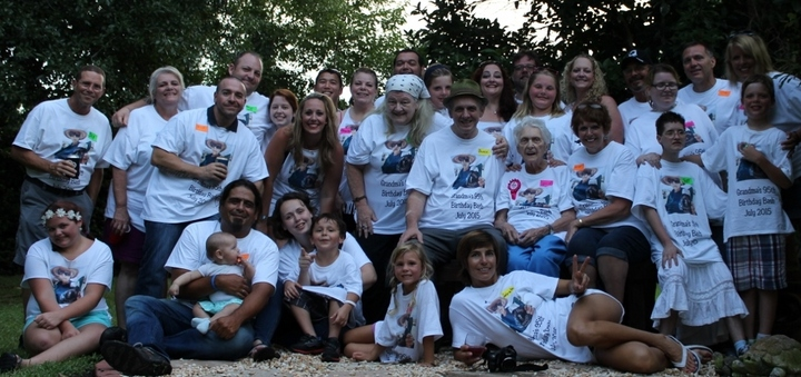 Grandma's 95th Birthday Bash T-Shirt Photo