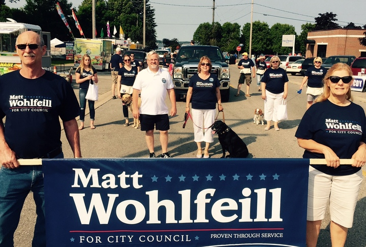 Matt Wohlfeill's Campaign T-Shirt Photo