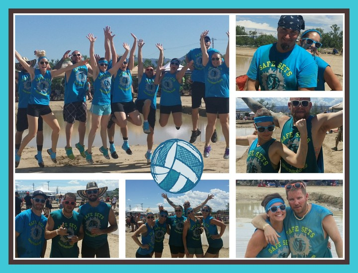 Mudd Volleyball March Of Dimes 2015 T-Shirt Photo