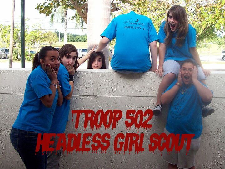 Troop 502 Headless Girl Scout T-Shirt Photo