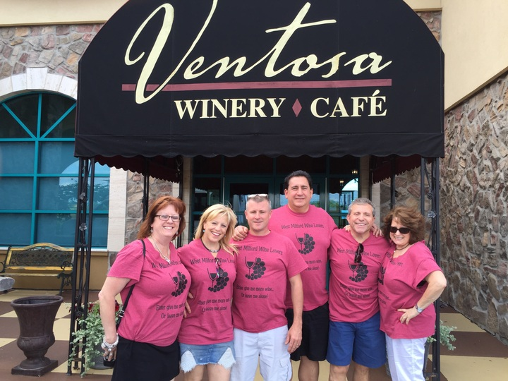 West Milford Wine Lovers T-Shirt Photo