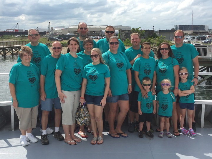 Fink Family Vacation 2015 T-Shirt Photo