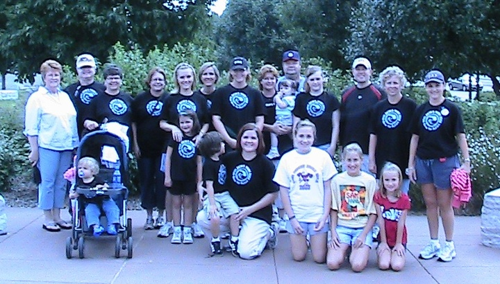 Zion's Tribe Walk Now For Autism 2008 T-Shirt Photo