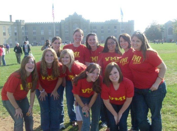 Vmi Girlfriends T-Shirt Photo