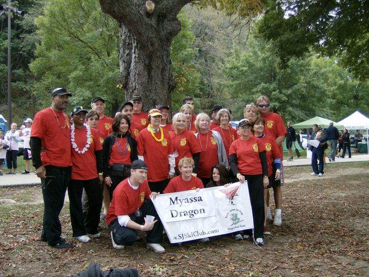South Jersey Ski Club Dragon Boat Team T-Shirt Photo
