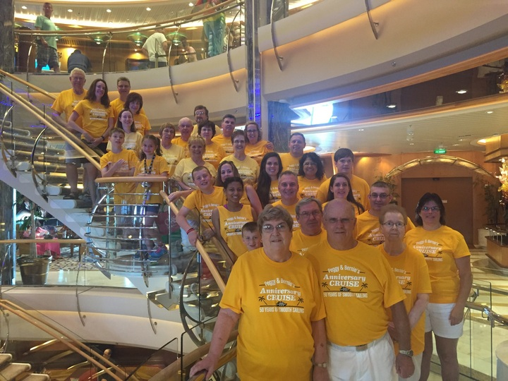 The Anniversary Cruise! T-Shirt Photo