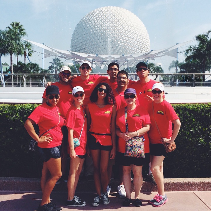 Masterpiece At Epcot T-Shirt Photo