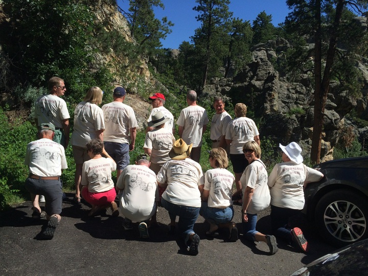 Great Black Hills Adventure T-Shirt Photo