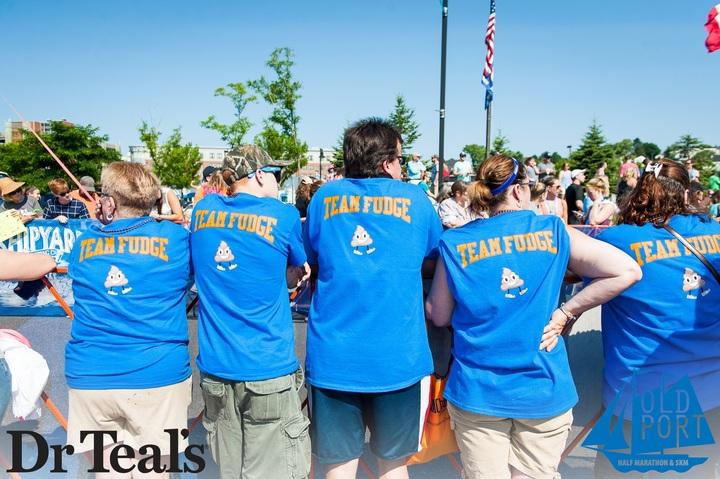 Cheering Fudge On T-Shirt Photo