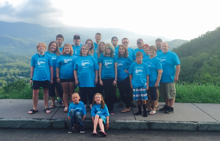 With the help of customink our group looked great and so for Custom t shirts family vacation