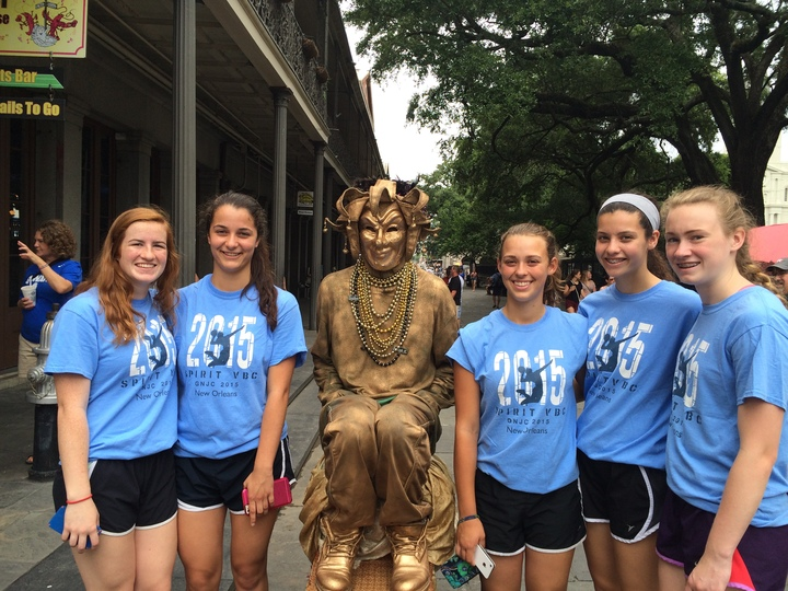 Ohio Volleyball Team Takes On Nola T-Shirt Photo