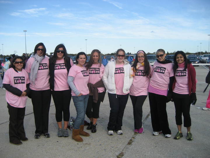Hofstra Law Women Breast Cancer Walk 2008 T-Shirt Photo