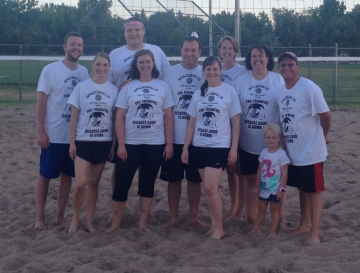 Spaceballs: The Volleyball Team T-Shirt Photo