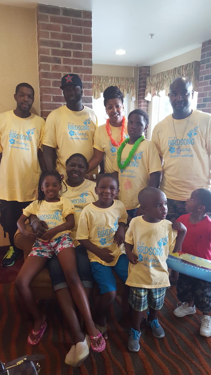 Birdsong Family  T-Shirt Photo