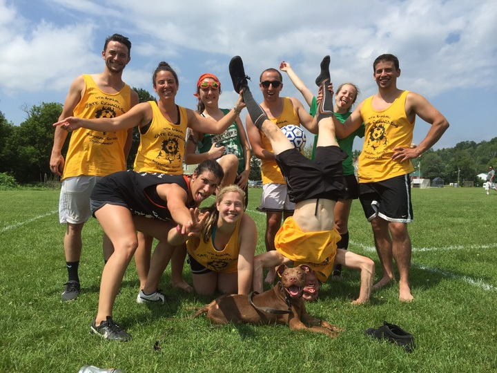 4th Annual Kate Richardson Memorial Soccer Tournament, Team: Tooo Hott!! T-Shirt Photo
