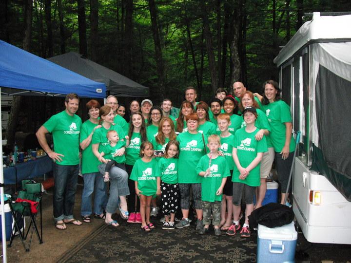 Cousins Camping 2015 T-Shirt Photo