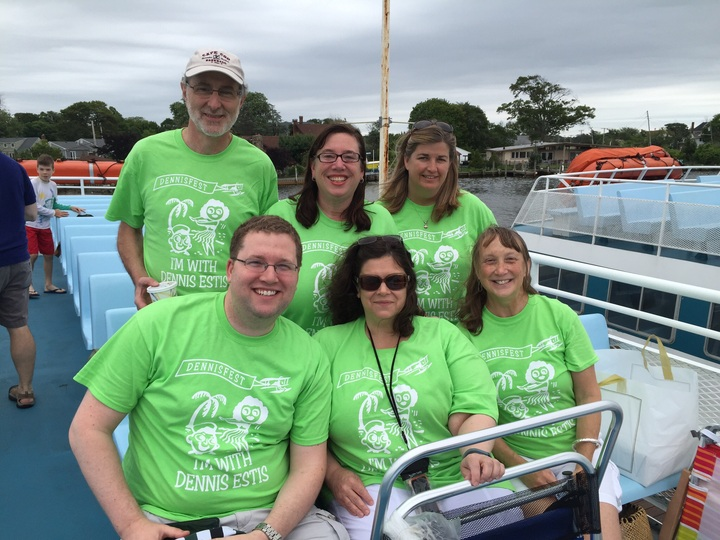 First Annual Dennisfest    On Our Way To The Island! T-Shirt Photo