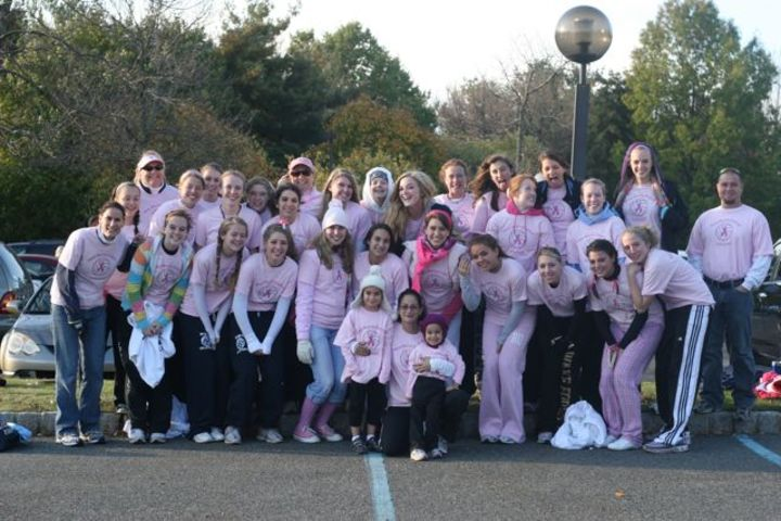 Wmc Volleyball Breast Cancer Walk 2008 T-Shirt Photo
