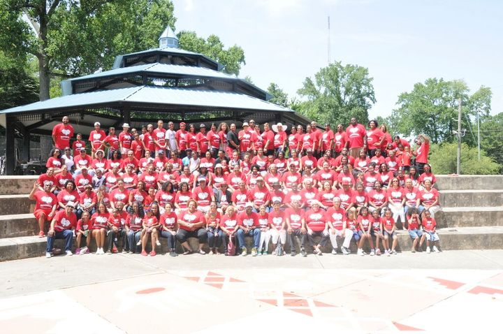 Washington Thompson Family Reunion T-Shirt Photo