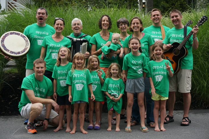 Offaly Sorries Family Band T-Shirt Photo