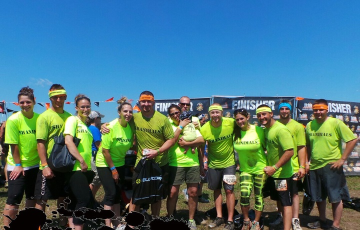 Shanimals At Twin Cities Tough Mudder  T-Shirt Photo