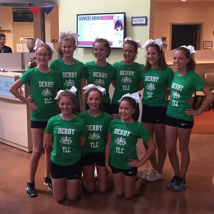 Derby Cheer 2015 T Shirt Photo